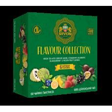 Зеленый чай Rivon Ароматна колекція Зелений *1.5г*6*10 пакетіків 90г
