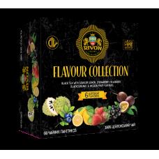 Чёрный чай Rivon Ароматна колекція Чорний *1.5г*6*10пакетів 90г
