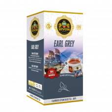 Чёрный чай Rivon Earl Grey (бергамот) BOPF 1,5г*25 пакет/конвертов