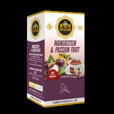 Чёрный чай Rivon Мангустин-Маракуйя BOPF 1,5г*25 пакет/конвертов