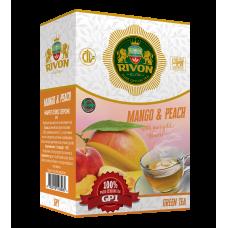 Зеленый чай Rivon Манго Персик GP1 100г