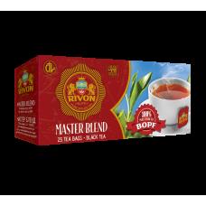 Чёрный чай Rivon «Мастер Бленд» 1.5г*25 пакетів