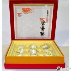 """Подарочный набор Guang Fu """"Белый в мандарине"""" 200г"""
