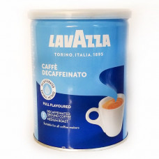 Кофе молотый Lavazza Dek 250г ж/б