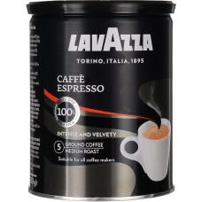 Кофе молотый Lavazza Espresso 100 % арабика 250 г ж/б