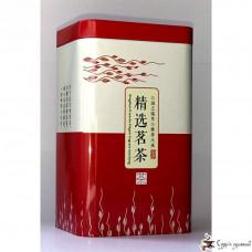 Банка для чая металлическая 85х65х135