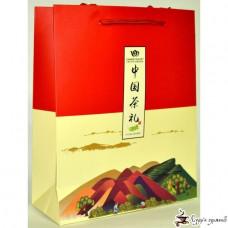 Картонный пакет китайский чай