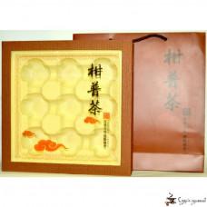Подарочная коробка Чай в мандарине + пакет