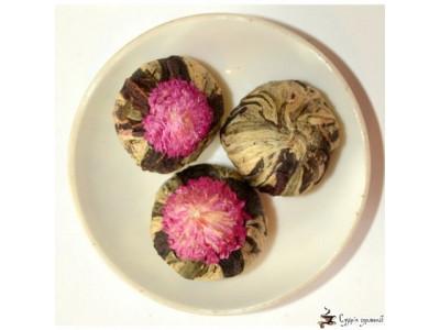Вязаный чай Guang Fu амарант - гибискус 25г