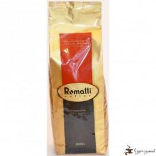 Кофе в зернах Romatti Арабика ароматизированная «Горький миндаль»
