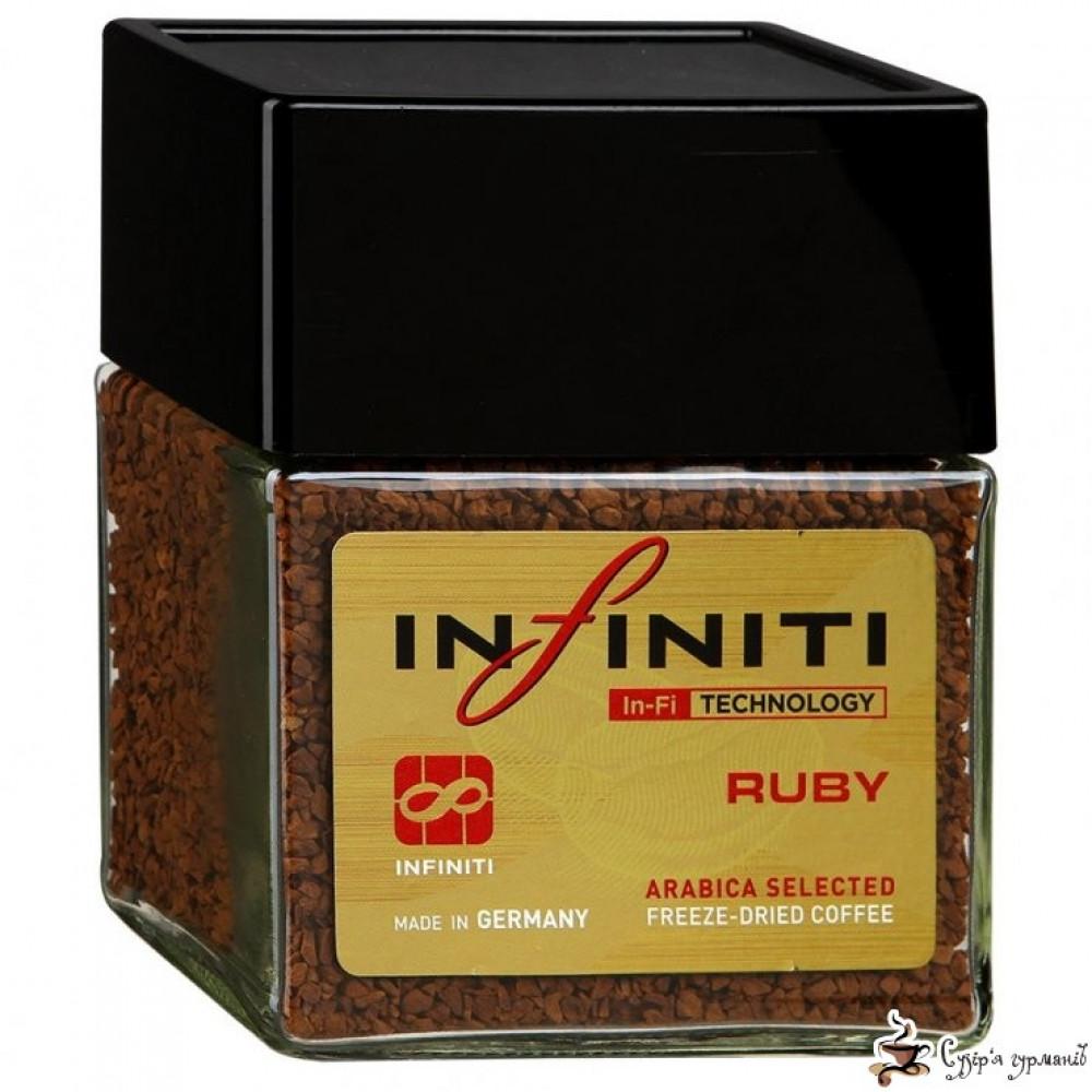Кофе растворимый Infiniti «RUBY» 100г