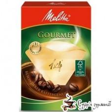 Фильтр для кофе Melitta Gourmet 1х4 80шт