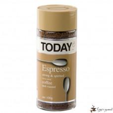 Кофе растворимый TODAY «Espresso» 100г