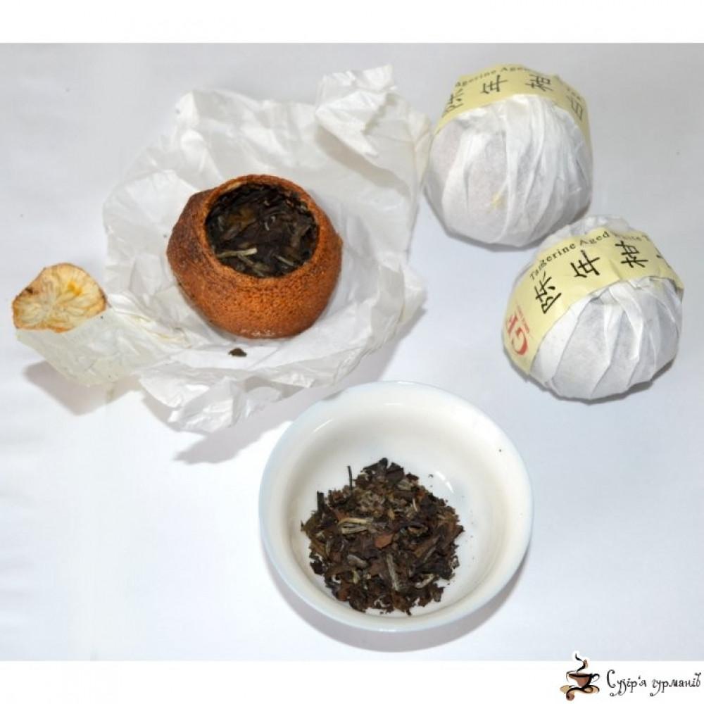 Белый старый чай Gurmans choice в мандарине 25г