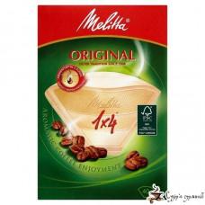 Фильтр-пакет бумажный для кофе Melitta Original бежевый 1*4(40шт)