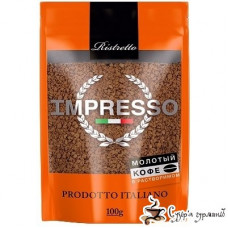 Кофе растворимый Impresso Ristretto м/у 100г