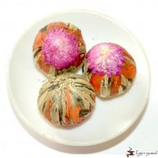 Вязанный чай Gurmans choice лилия - амарант 25г