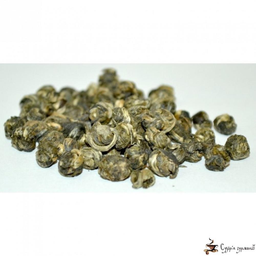 Зелёный чай Gurmans choice Жемчужина Дракона с жасмином