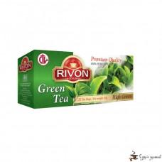 Зелёный чай Rivon 2г*25 пакетов